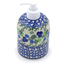 5-inch Stoneware Soap Dispenser - Polmedia Polish Pottery H2805J