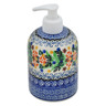 5-inch Stoneware Soap Dispenser - Polmedia Polish Pottery H2819C