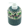 5-inch Stoneware Soap Dispenser - Polmedia Polish Pottery H3015J