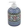 5-inch Stoneware Soap Dispenser - Polmedia Polish Pottery H3331B