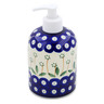 5-inch Stoneware Soap Dispenser - Polmedia Polish Pottery H3739B