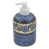 5-inch Stoneware Soap Dispenser - Polmedia Polish Pottery H3809B