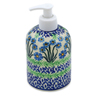 5-inch Stoneware Soap Dispenser - Polmedia Polish Pottery H4083K