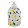 5-inch Stoneware Soap Dispenser - Polmedia Polish Pottery H4298K
