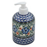 5-inch Stoneware Soap Dispenser - Polmedia Polish Pottery H4495B