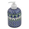 5-inch Stoneware Soap Dispenser - Polmedia Polish Pottery H5165B