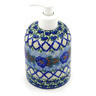 5-inch Stoneware Soap Dispenser - Polmedia Polish Pottery H5603E