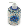 5-inch Stoneware Soap Dispenser - Polmedia Polish Pottery H6029I