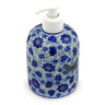 5-inch Stoneware Soap Dispenser - Polmedia Polish Pottery H6196E