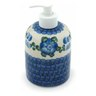 5-inch Stoneware Soap Dispenser - Polmedia Polish Pottery H6495A
