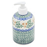 5-inch Stoneware Soap Dispenser - Polmedia Polish Pottery H6501A