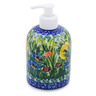 5-inch Stoneware Soap Dispenser - Polmedia Polish Pottery H6770J