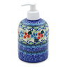 5-inch Stoneware Soap Dispenser - Polmedia Polish Pottery H6780J