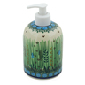 5-inch Stoneware Soap Dispenser - Polmedia Polish Pottery H6808J