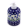 5-inch Stoneware Soap Dispenser - Polmedia Polish Pottery H7190I