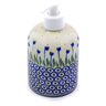 5-inch Stoneware Soap Dispenser - Polmedia Polish Pottery H7247I