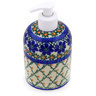 5-inch Stoneware Soap Dispenser - Polmedia Polish Pottery H7947D