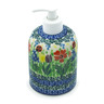 5-inch Stoneware Soap Dispenser - Polmedia Polish Pottery H8694H