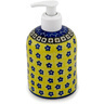 5-inch Stoneware Soap Dispenser - Polmedia Polish Pottery H8863A
