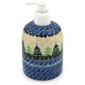 5-inch Stoneware Soap Dispenser - Polmedia Polish Pottery H9277C