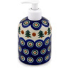 5-inch Stoneware Soap Dispenser - Polmedia Polish Pottery H9278C