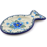 5-inch Stoneware Tea Bag or Lemon Plate - Polmedia Polish Pottery H0895I