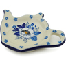 5-inch Stoneware Tea Bag or Lemon Plate - Polmedia Polish Pottery H2196J
