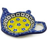 5-inch Stoneware Tea Bag or Lemon Plate - Polmedia Polish Pottery H2330D