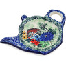 5-inch Stoneware Tea Bag or Lemon Plate - Polmedia Polish Pottery H3862L