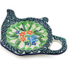 5-inch Stoneware Tea Bag or Lemon Plate - Polmedia Polish Pottery H3875L
