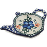 5-inch Stoneware Tea Bag or Lemon Plate - Polmedia Polish Pottery H4475B