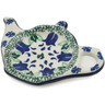 5-inch Stoneware Tea Bag or Lemon Plate - Polmedia Polish Pottery H5184B