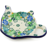 5-inch Stoneware Tea Bag or Lemon Plate - Polmedia Polish Pottery H5988J