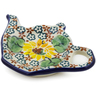 5-inch Stoneware Tea Bag or Lemon Plate - Polmedia Polish Pottery H5990J