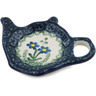 5-inch Stoneware Tea Bag or Lemon Plate - Polmedia Polish Pottery H6624B