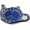 5-inch Stoneware Tea Bag or Lemon Plate - Polmedia Polish Pottery H6968A