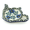 5-inch Stoneware Tea Bag or Lemon Plate - Polmedia Polish Pottery H6969A