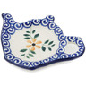 5-inch Stoneware Tea Bag or Lemon Plate - Polmedia Polish Pottery H8486B