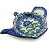 5-inch Stoneware Tea Bag or Lemon Plate - Polmedia Polish Pottery H9441I