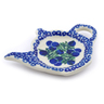 5-inch Stoneware Tea Bag or Lemon Plate - Polmedia Polish Pottery H9444I