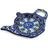 5-inch Stoneware Tea Bag or Lemon Plate - Polmedia Polish Pottery H9731B