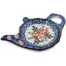 5-inch Stoneware Tea Bag or Lemon Plate - Polmedia Polish Pottery H9872B