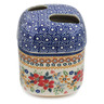 5-inch Stoneware Toothbrush Holder - Polmedia Polish Pottery H7809K
