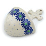 5-inch Stoneware Wall Pocket - Polmedia Polish Pottery H4491I