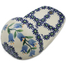 5-inch Stoneware Wall Pocket - Polmedia Polish Pottery H6665K