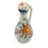 5 oz Stoneware Bottle - Polmedia Polish Pottery H4184J