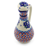 5 oz Stoneware Bottle - Polmedia Polish Pottery H4577J