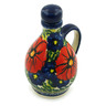 5 oz Stoneware Bottle - Polmedia Polish Pottery H6100I