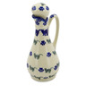 5 oz Stoneware Bottle - Polmedia Polish Pottery H6341J
