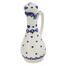 5 oz Stoneware Bottle - Polmedia Polish Pottery H9176K